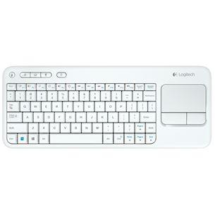 Bezvadu klaviatūra K400 Touch, Logitech / RUS