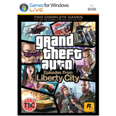 Spēle PC Grand Theft Auto IV: Episodes from Liberty City