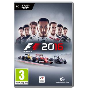Spēle priekš PC, F1 2016