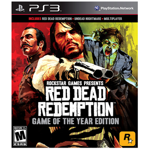 Spēle  Red Dead Redemption (Game of the year edition), PS3