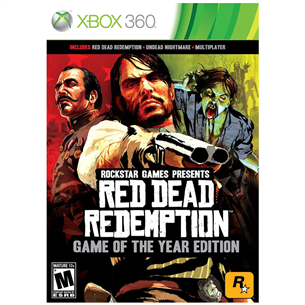 Spēle priekš Xbox 360, Red Dead Redemption Game of the year edition