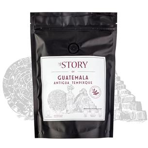 Kafijas pupiņas Guatemala Antigua Tempixque 250g, The Story