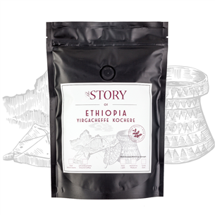 Kafijas pupiņas Ethiopia Yirgacheffe Kochere 250g, The Story