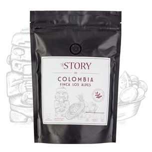 Kafijas pupiņas Colombia Finca Los Alpes 250g, The Story
