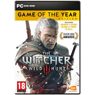 Spēle priekš PC Witcher 3 Game of the Year Edition