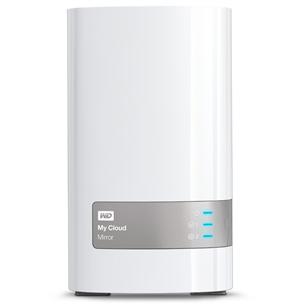 Ārējais cietais disks My Cloud Mirror, WD / 8TB, LAN