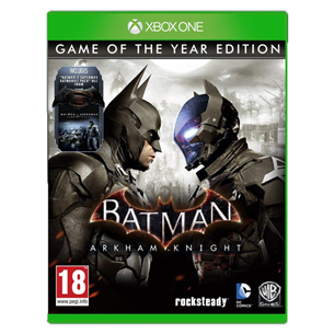 Spēle priekš Xbox One, Batman: Arkham Knight Game Of The Year Edition
