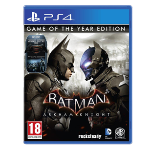 Spēle priekš PlayStation 4, Batman: Arkham Knight Game Of The Year Edition