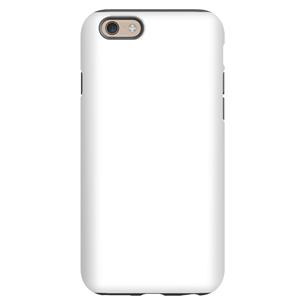 Vāciņš ar personalizētu dizainu priekš iPhone 6 spīdīgs / Tough