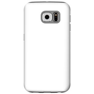 Vāciņš ar personalizētu dizainu priekš Galaxy S6 spīdīgs / Tough