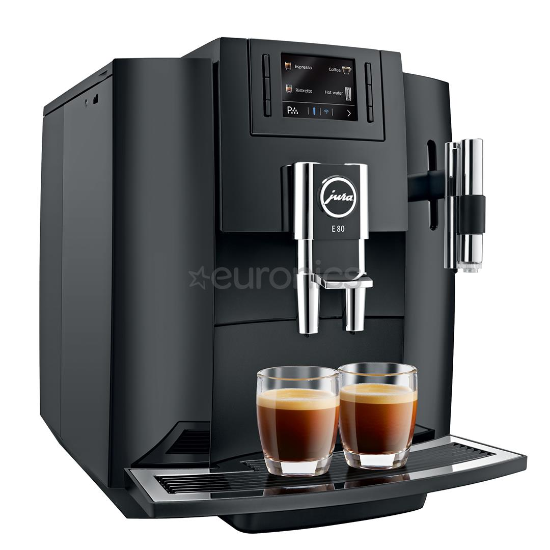 espresso machine jura e80 15083. Black Bedroom Furniture Sets. Home Design Ideas