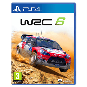 Spēle priekš PC WRC 6