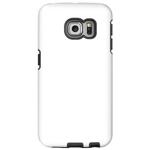 Vāciņš ar personalizētu dizainu priekš Galaxy S6 Edge spīdīgs / Tough