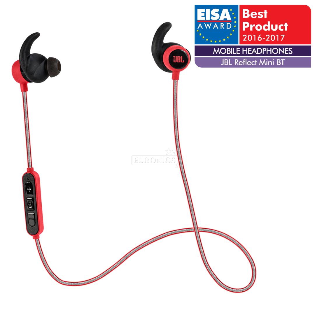 33e0ce8b2a3 Headphones Reflect Mini Bluetooth, JBL, JBLREFMINIBTRED