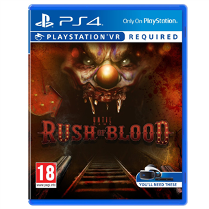 Spēle priekš PlayStation 4 Until Dawn: Rush of Blood
