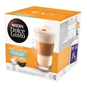 Kafijas kapsulas Dolce Gusto Latte Macchiato bez cukura, Nestle