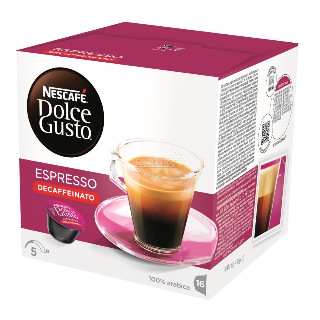 coffee capsules nescafe dolce gusto espresso decaffeinato. Black Bedroom Furniture Sets. Home Design Ideas