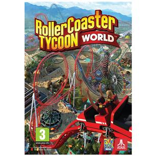 Spēle priekš PC, RollerCoaster Tycoon World