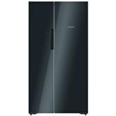 Side by side tipa ledusskapis NoFrost, Bosch / augstums: 175,6 cm