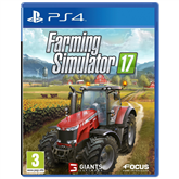 Spēle priekš PlayStation 4 Farming Simulator 17