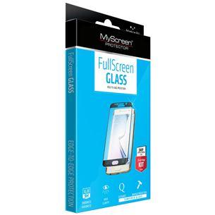 Aizsargstikls Diamond Full Screen Glass priekš Galaxy S6 Edge plus 3D, MyScreen