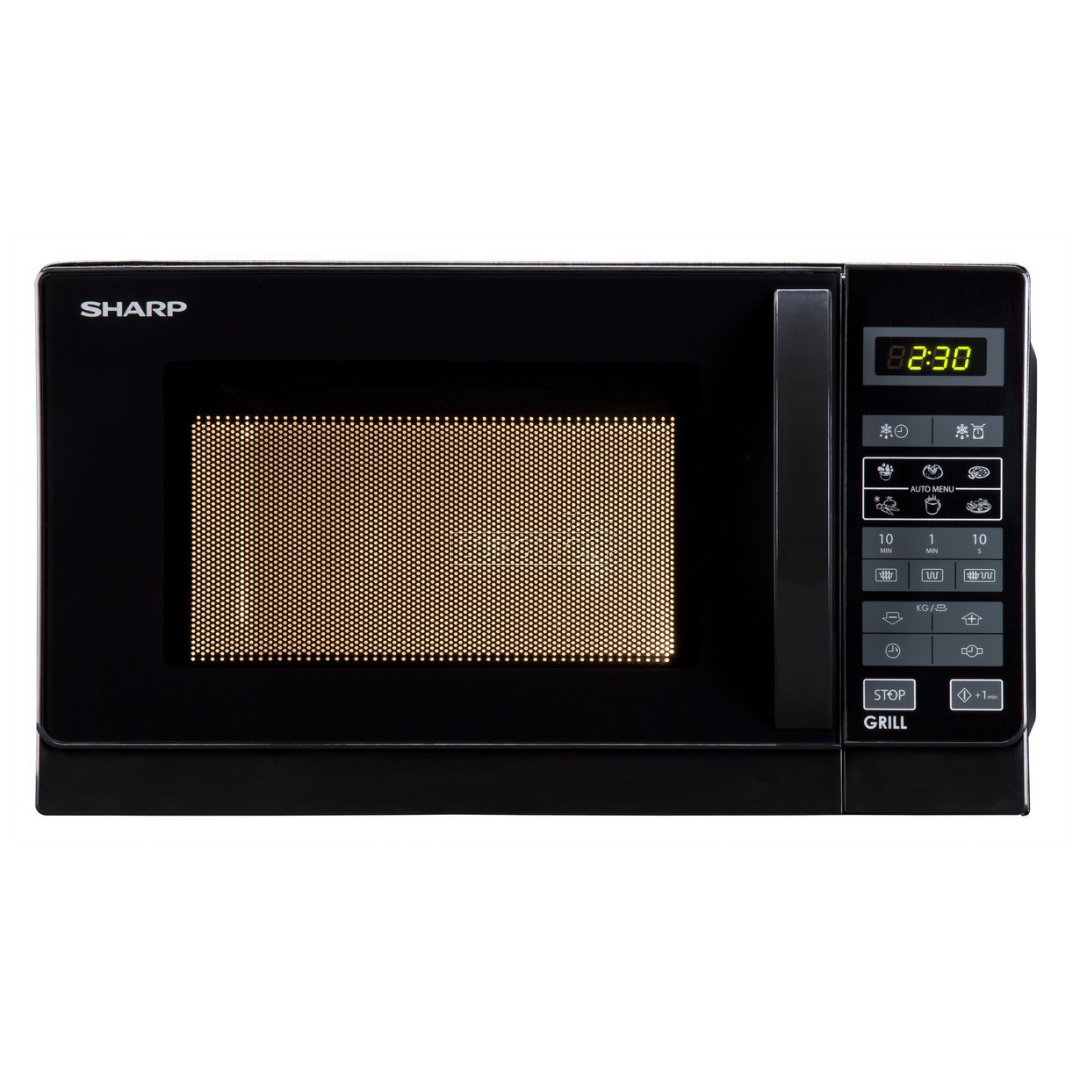 microwave oven sharp 20 l r642bkw rh euronics lv