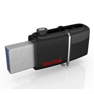 USB zibatmiņa Ultra Android Dual USB, SanDisk / 64GB