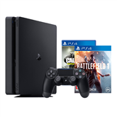Spēļu konsole Sony Playstation 4 Slim (1 TB) + Battlefield 1 + Call of Duty: Infinite Warfare