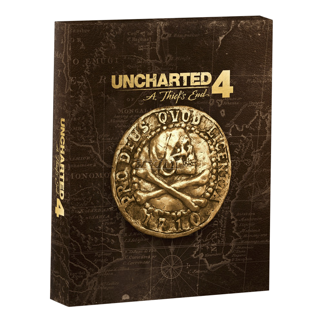 PS4 game UNCHARTED 4: A Thief's End Special Edition ...