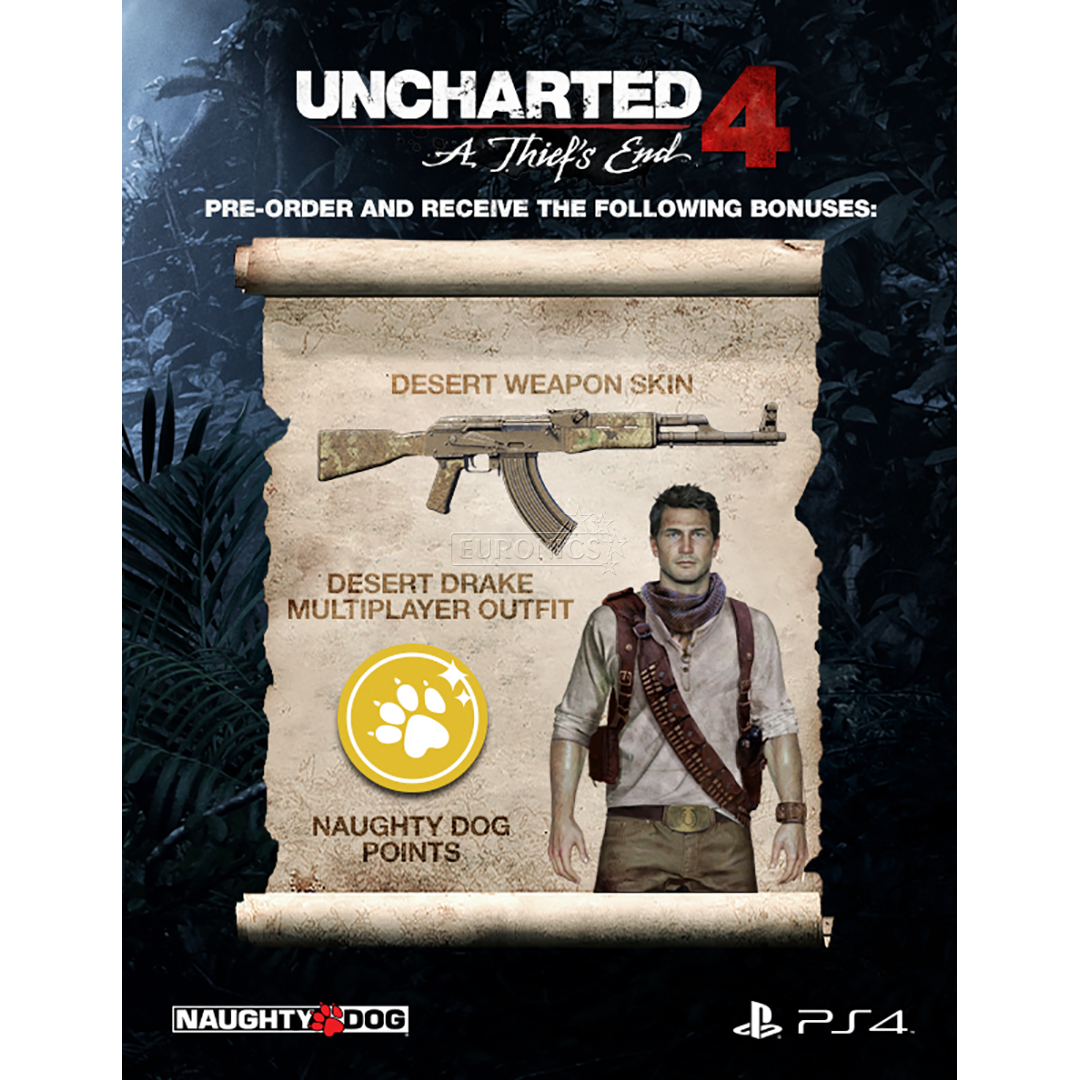 PS4 game UNCHARTED 4: A Thief's End Special Edition, 711719858843