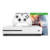Spēļu konsole Microsoft Xbox One S (500 GB) + Battlefield 1