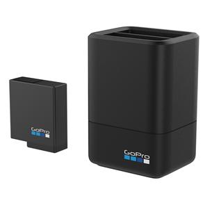 Dubultais baterijas lādētājs + baterija priekš HERO5 Black, GoPro AADBD-001