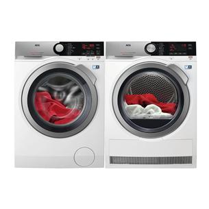 Veļas mazgājamā mašīna + veļas žāvētājs, AEG  / 1400 apgr/min