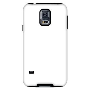 Vāciņš ar personalizētu dizainu priekš Galaxy S5 spīdīgs / Tough