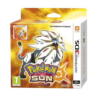 Spēle priekš 3DS, Pokemon Sun Fan Edition