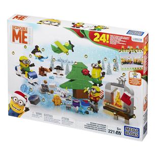 Adventes kalendārs Mega Bloks Minions
