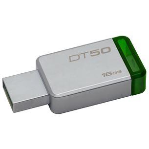 USB zibatmiņa DataTravel50 Purple, Kingston / 16GB, USB 3.0