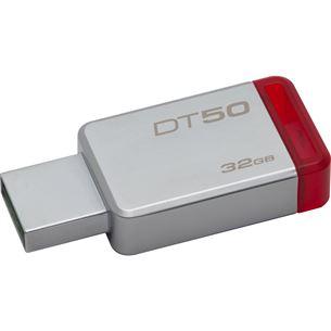 USB zibatmiņa DataTravel50 Purple, Kingston / 32GB, USB 3.0