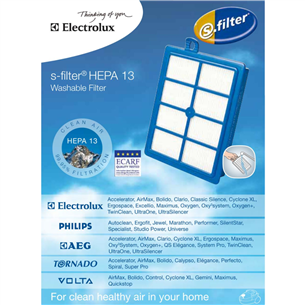 Filtrs Hepa13 washable, Electrolux