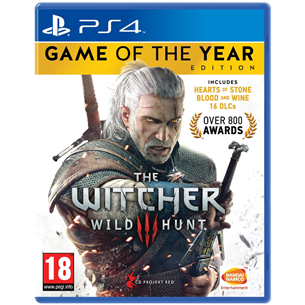 Spēle priekš PlayStation 4, Witcher 3 Game of the Year Edition