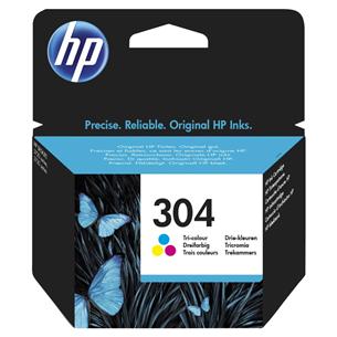 Tintes kārtridžs 304, HP / trīs krāsas