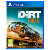PS4 game Dirt Rally