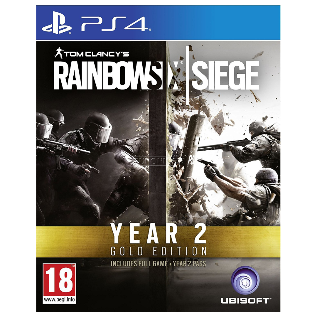 ps4 game rainbow six siege year 2 gold edition 3307216001836. Black Bedroom Furniture Sets. Home Design Ideas