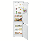 Iebūvējams ledusskapis Comfort BioFresh NoFrost, Liebherr / augstums: 178 cm