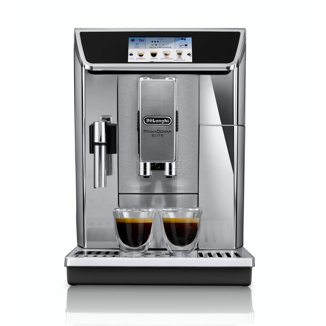 Delonghi Coffee Maker Caffe Elite : Espresso machine PrimaDonna Elite, DeLonghi, ECAM650.75.S