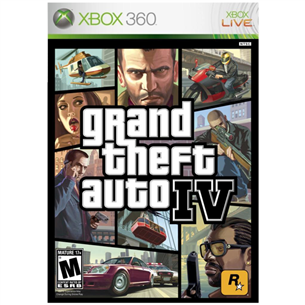 Spēle priekš Xbox 360, Grand Theft Auto IV