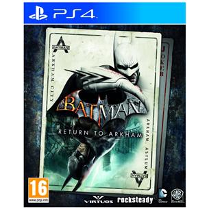 Spēle priekš PlayStation 4, Batman: Return to Arkham