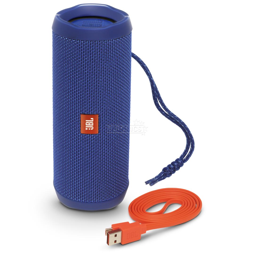 Wireless portable speaker jbl flip 4 jblflip4blu for Housse jbl flip 4