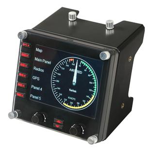 Instrumentu panelis G Saitek Pro Flight, Logitech 945-000008