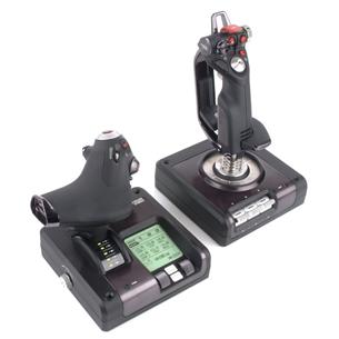 Spēļu kontrolieris Saitek X52 Pro Flight, Logitech